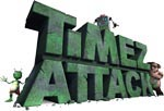 TimezAttack Multiplication Tables video game logo from BigBrainz.com