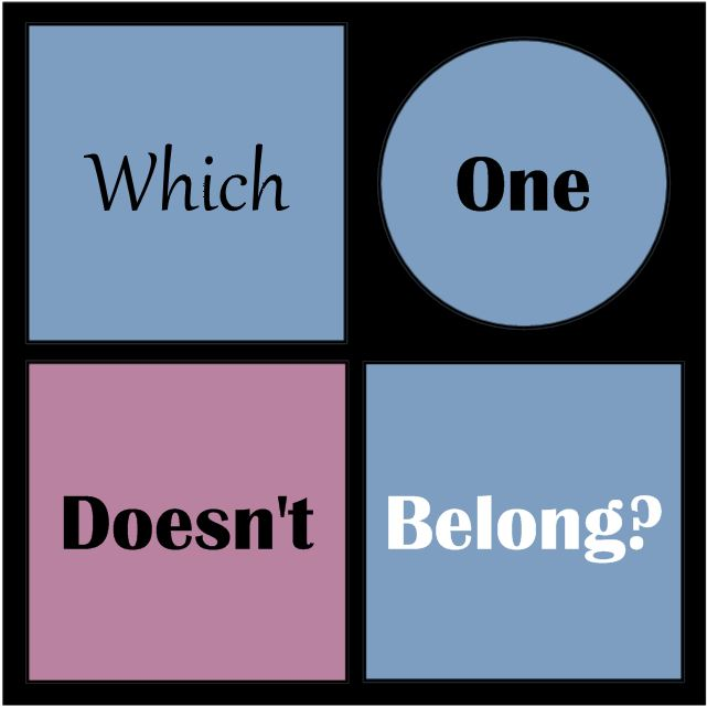Which One Doesn't Belong Logo
